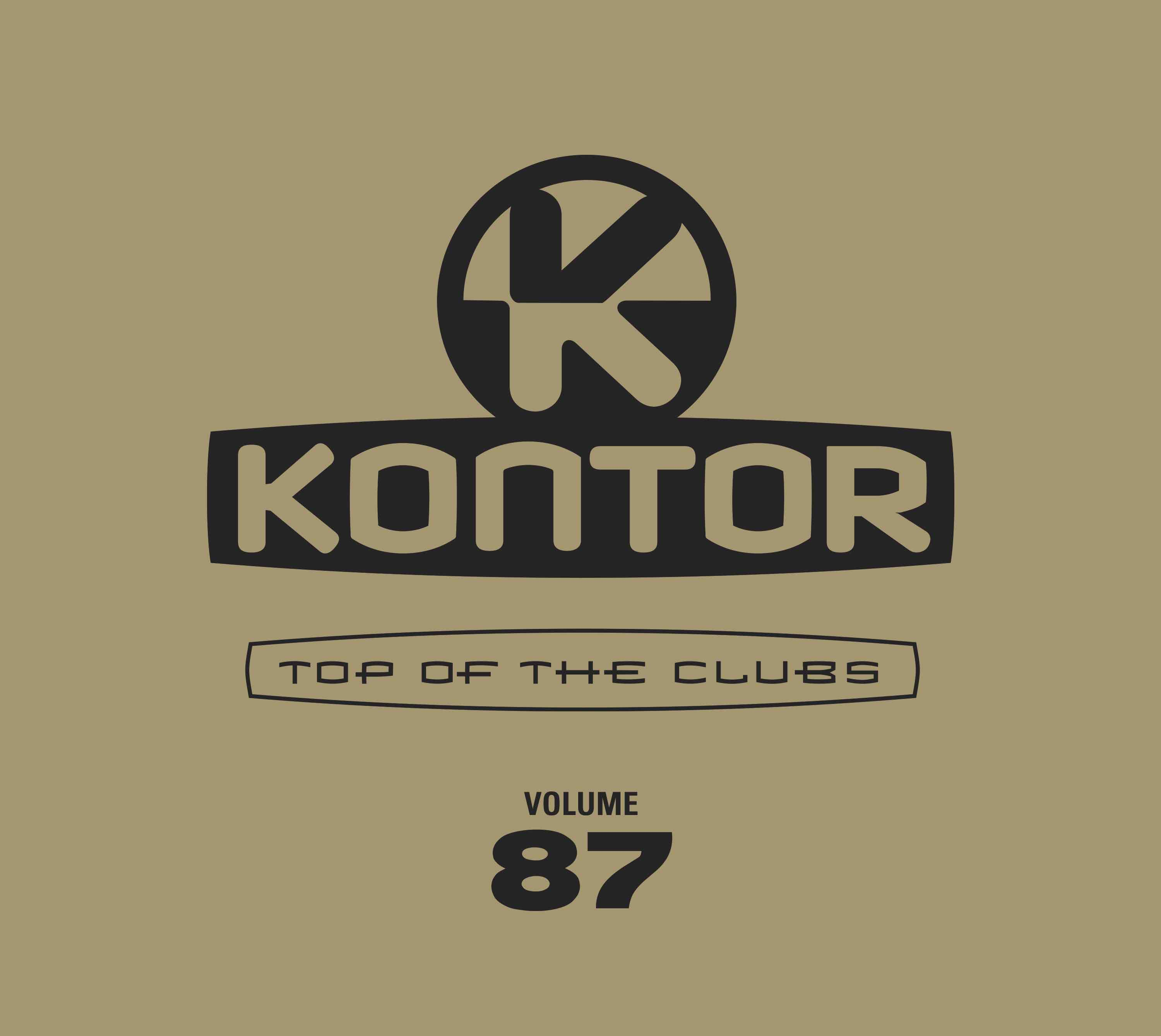 Cover Kontor Top Of The Clubs Vol. 87 CMYK