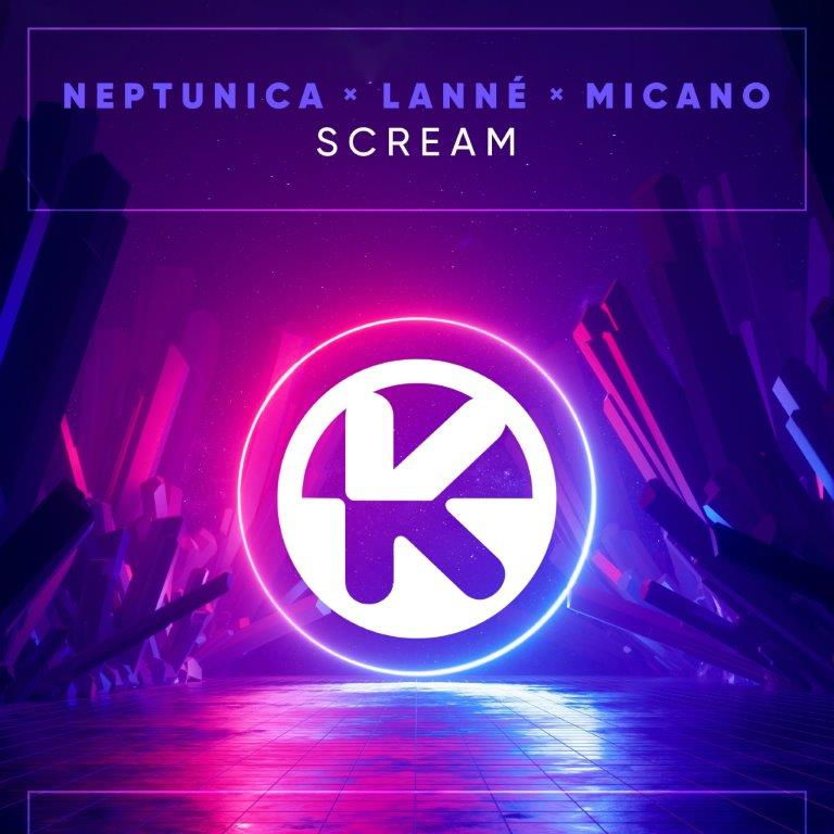 Cover Neptunica LANNÉ  Micano   Scream